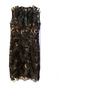 Nanette Lepore black lace dress size 4 beautiful